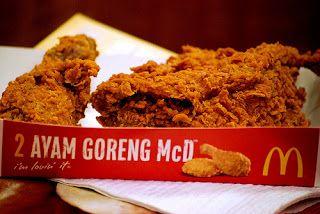 Ayam Goreng Spicy Mcd Always A Favourite 3 Makanan Dan Minuman Ayam Goreng Ayam