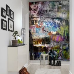 poster xxl de street art int rieur interieurs pinterest. Black Bedroom Furniture Sets. Home Design Ideas