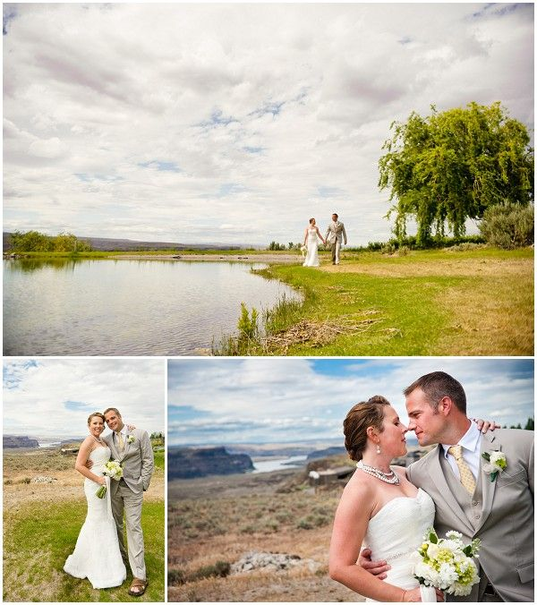 French Country style wedding in Washington State ...