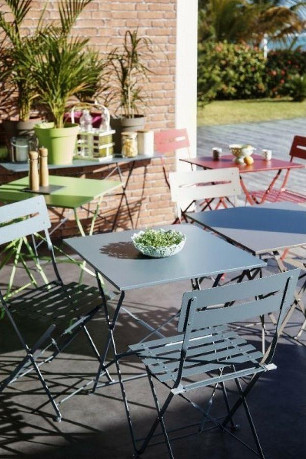 29 meubles accessoires pas chers pour am nager quiper - Table plus chaise de jardin pas cher ...