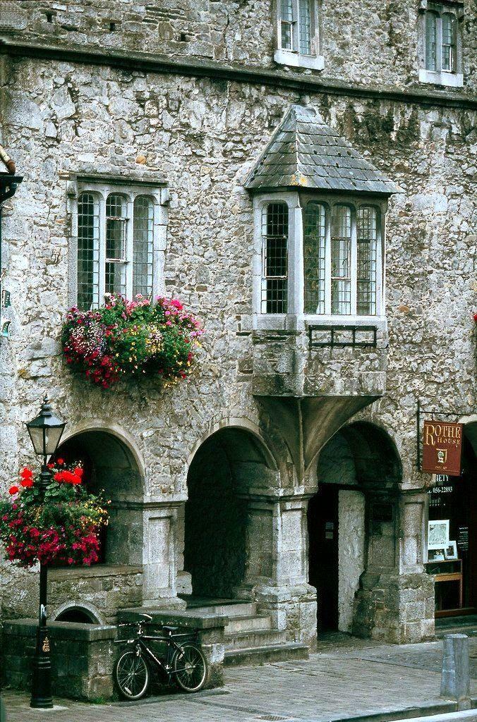 Rothe House.. Kilkenny city, Ireland.. Ireland tourism