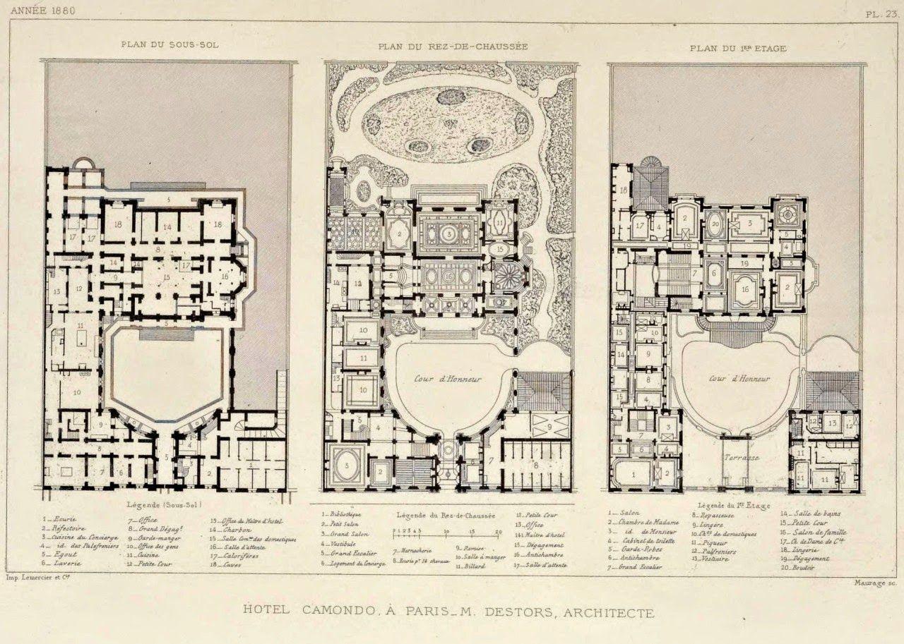 The Most Elegant House Musee Nissim De Camondo Paris How To Plan Hotel Floor Plan Floor Plans