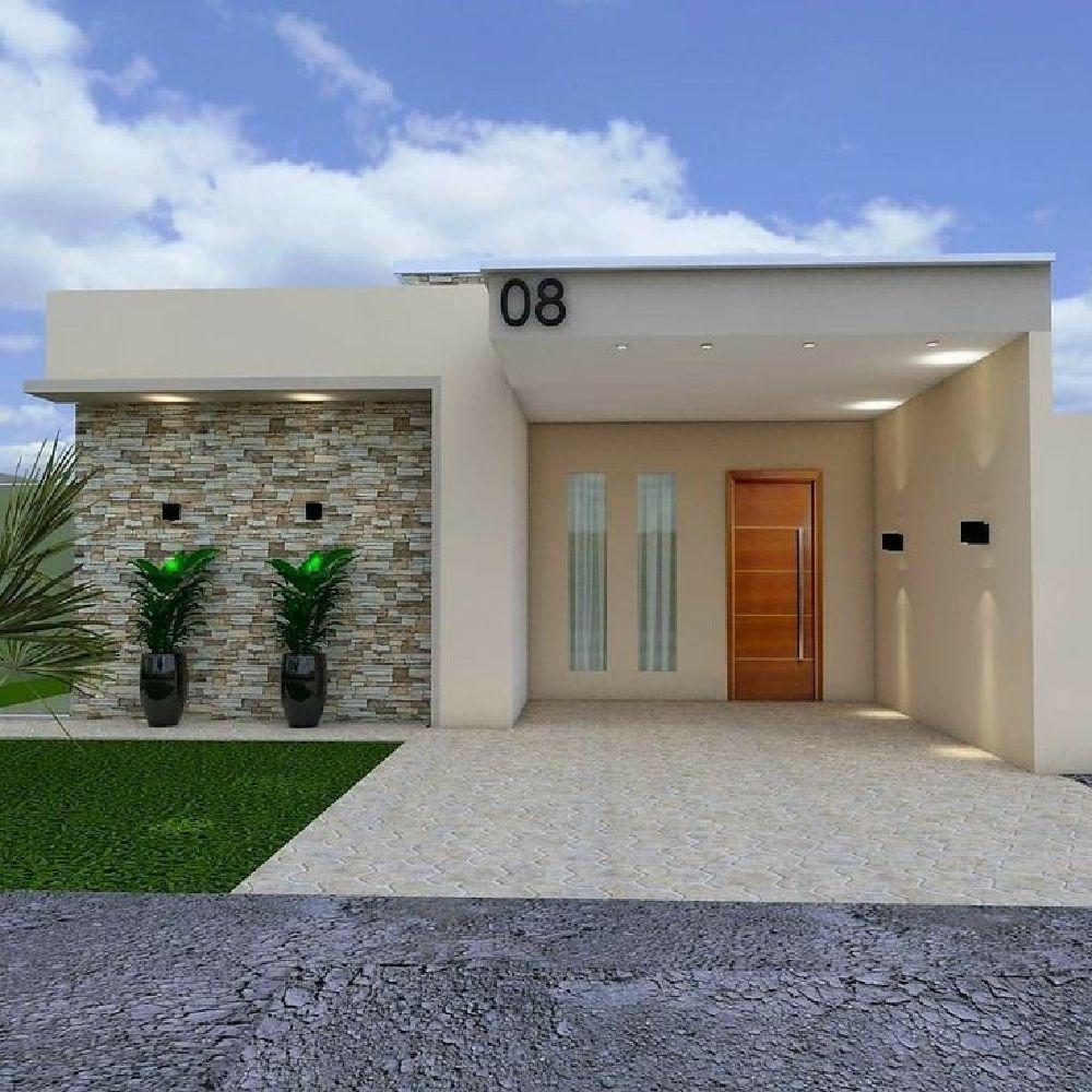 25 Mejores Ideas De Diseno De Arte De Pared Exterior Para El Hogar Exterior Dec En 2020 Casas Modernas Simples Modelos De Casas Sencillas Fachadas De Casas Infonavit