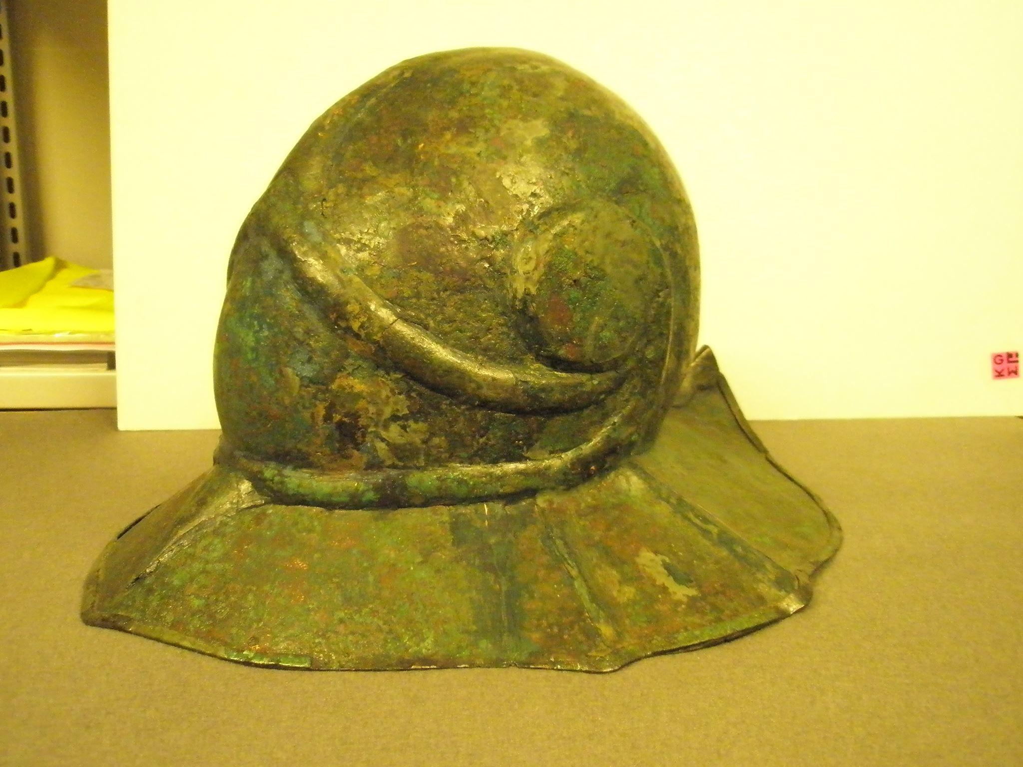 Helmet from Hamburg based Museum für Kunst und Gewerbe
