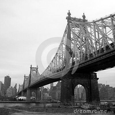 New york east river bridge