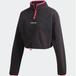 Polar Fleece Crop-Pullover adidas #cutecroptops