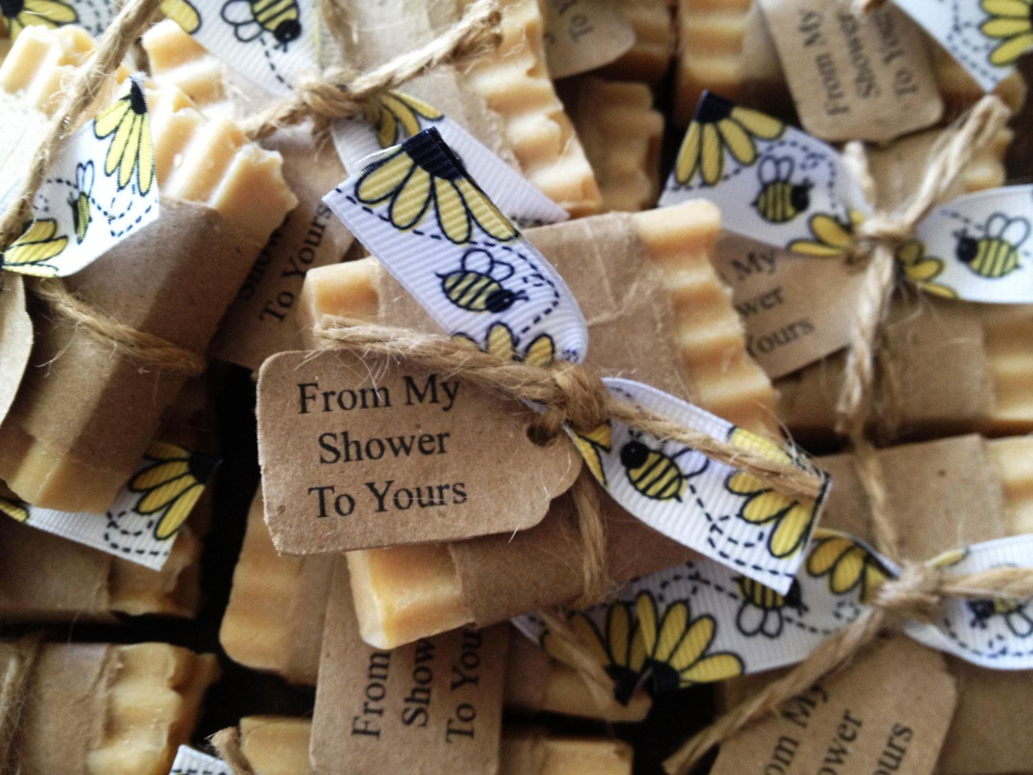 Honey Soap Favors Mommy To Bee Baby Shower
