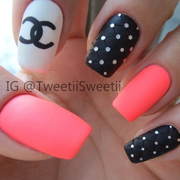 Coco Chanel | korom | Pinterest | Coco chanel and Nail nail
