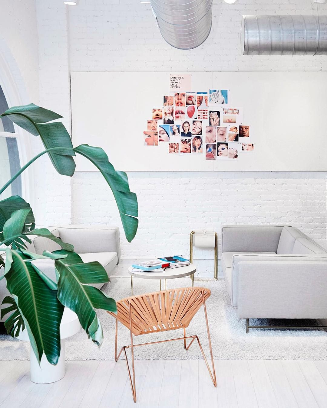 Fun fact: All the conference rooms at @Glossier HQ are named after women they admire. Click the link in our bio to meet @EmilyWWeiss in @Beyonce.   Photo by @JennaPeffley. by mydomaine