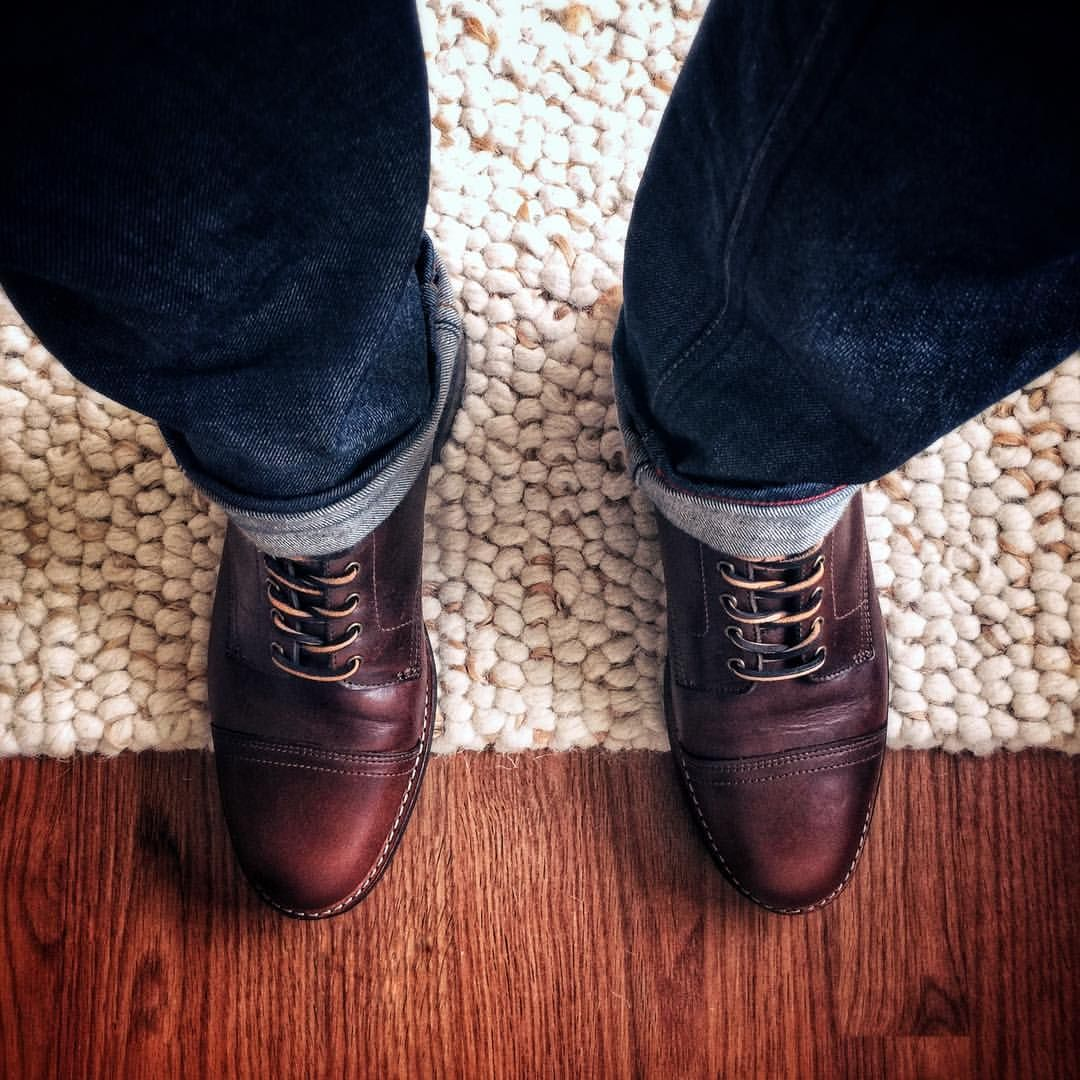 Thursday Boots' French Roast color is