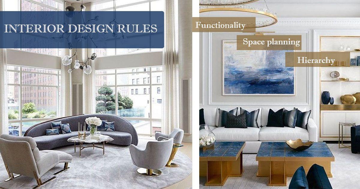 The Design Rules You Should Never Break Living Room Modern Design Rules Interior Design