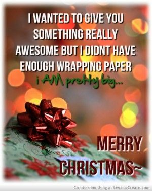 quotes about wrapping christmas presents