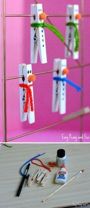 Weihnachtsbasteln mit Kindern- 62 DIY Ideen, die einfach und schnell umgesetzt werden Check m...