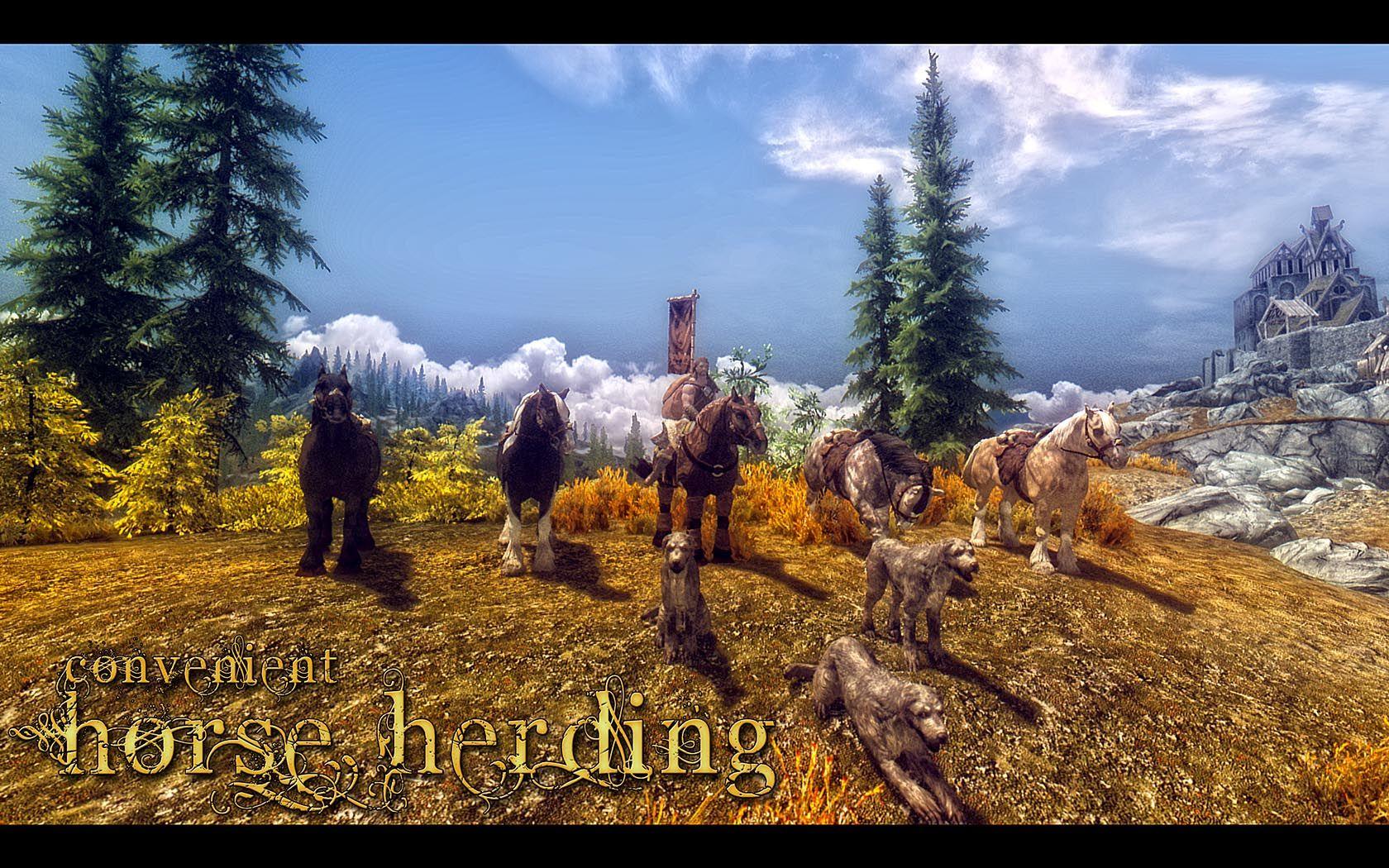 Convenient Horse Herding at Skyrim Nexus - mods and