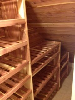 Under The Stairs To Turn A Useless Space In To Cedar Storage Area Closet Under Stairs Basement Inspiration Basement Stairs