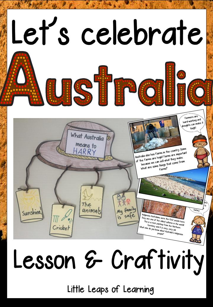 Australia Theme Preschool Classroom Lesson Plans ...  |Australia Day Lesson Plans