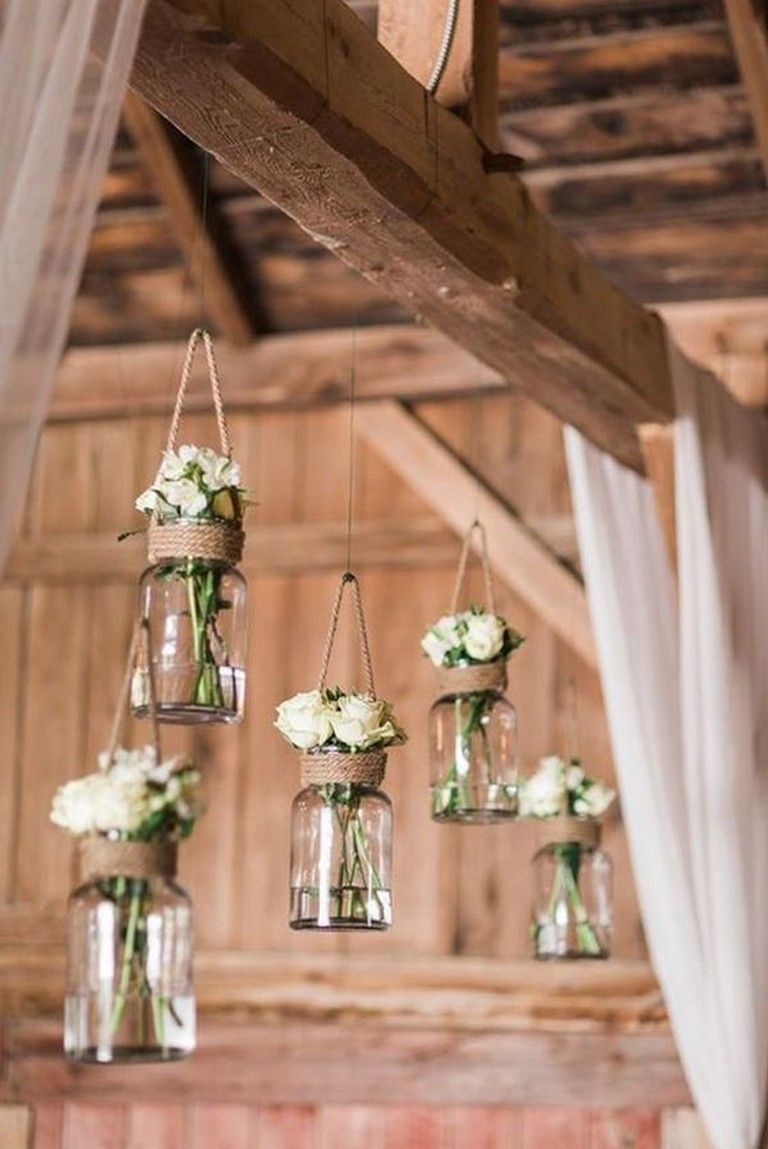 21 Simple Country Rustic Wedding Ideas Details