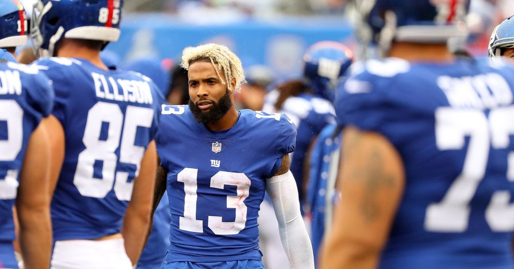 Giants Trade Odell Beckham Jr. to the Browns Beckham jr