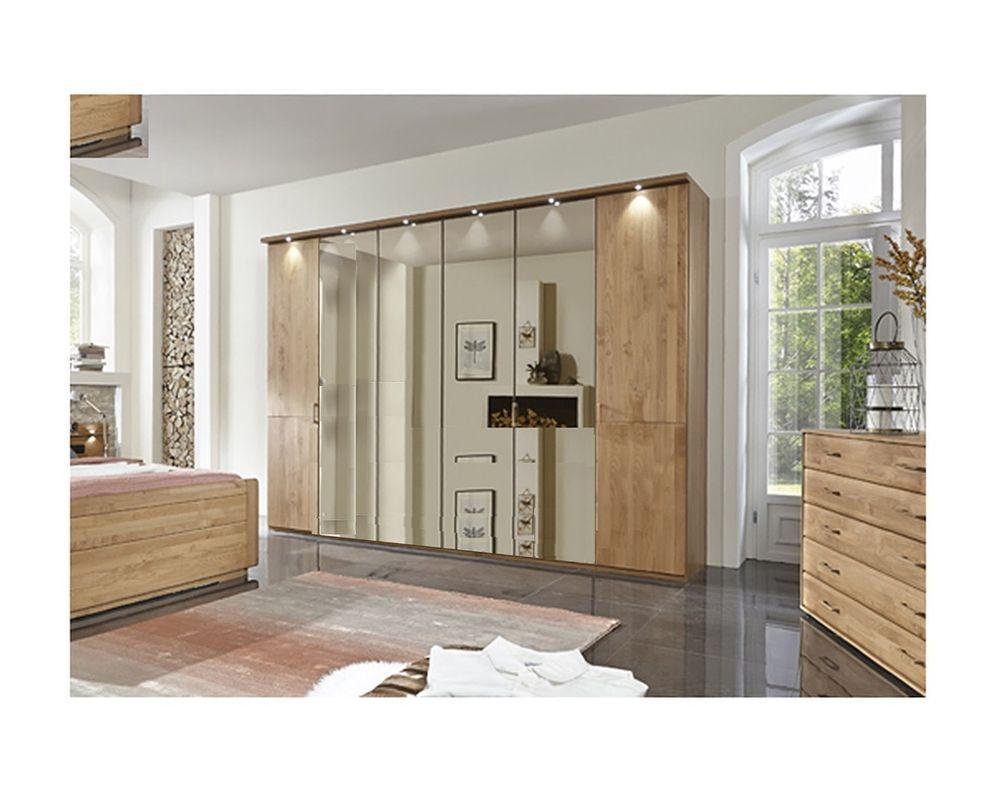 kleiderschrank 216 oder 236 cm hoch erle teilmassiv modell lido kleiderschrank mit farbe. Black Bedroom Furniture Sets. Home Design Ideas