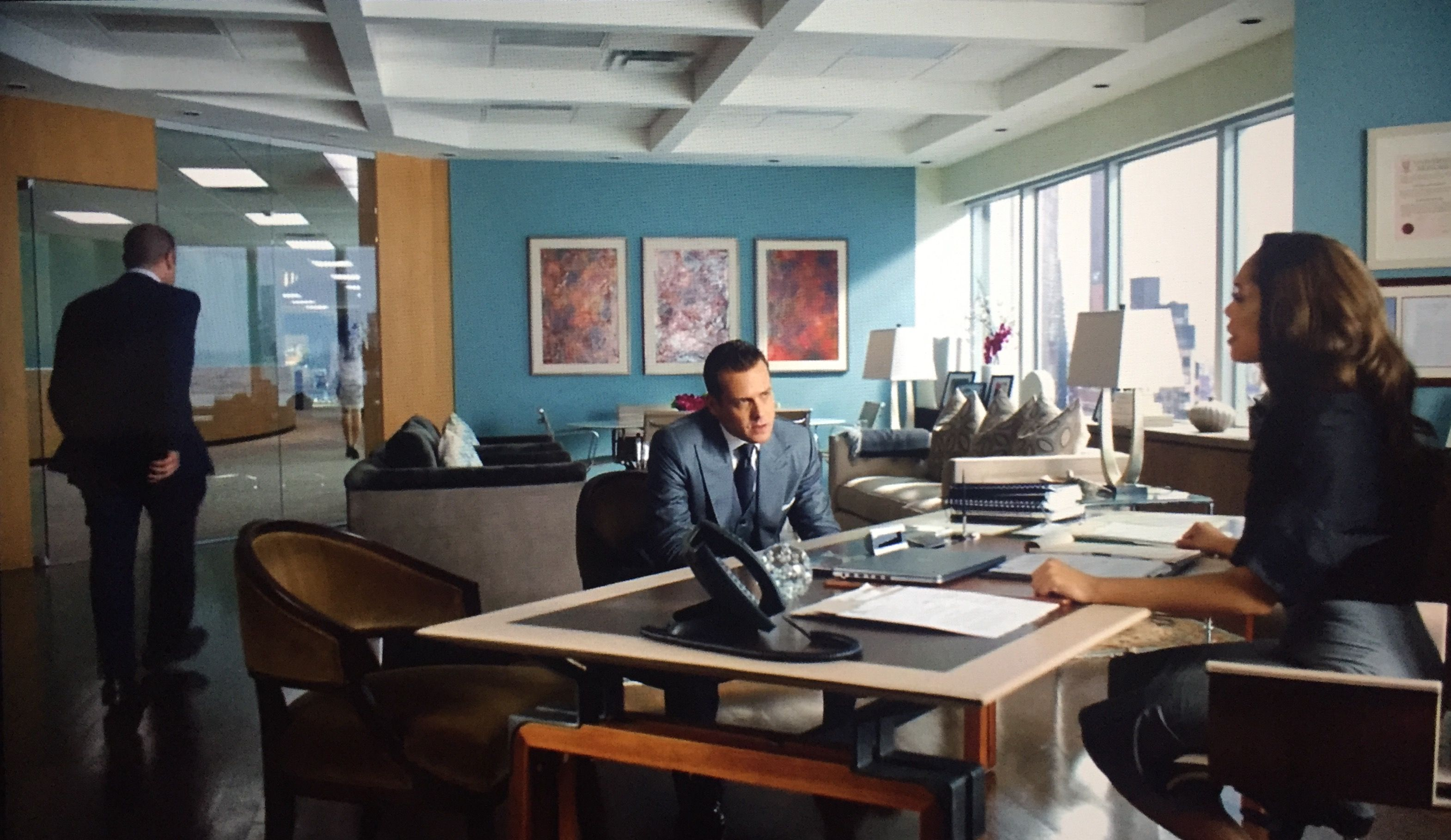 suits office. Jessica Pearson\u0027s Office From The Series Suits On USA. Love Design In This Space T