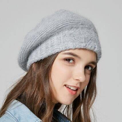 1488cd096e8 Beanie Hats · Rabbit Fur Hat · Hats For Sale · Winter Hats For Women ·  Winter Wear · Wool Hats · https   www.buyhathats.com british-knitted-beret-