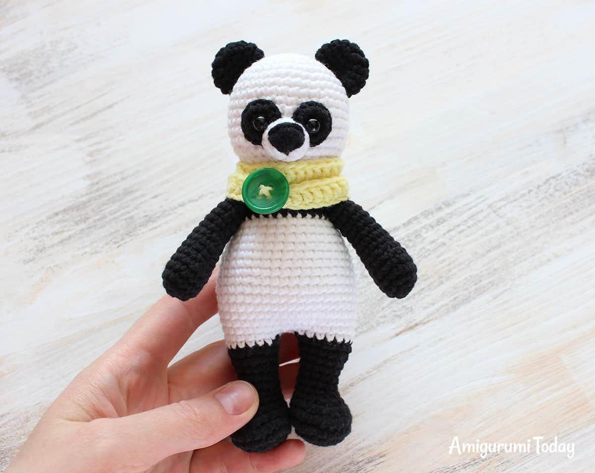Cuddle Me Panda patrón de amigurumi | Amigurumis | Pinterest ...
