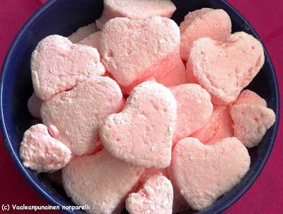 Vaaleanpunainen Nonparelli: Vaahtosydämet