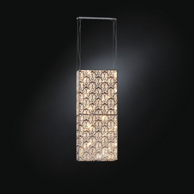 suspended square crystal panels - Google Search
