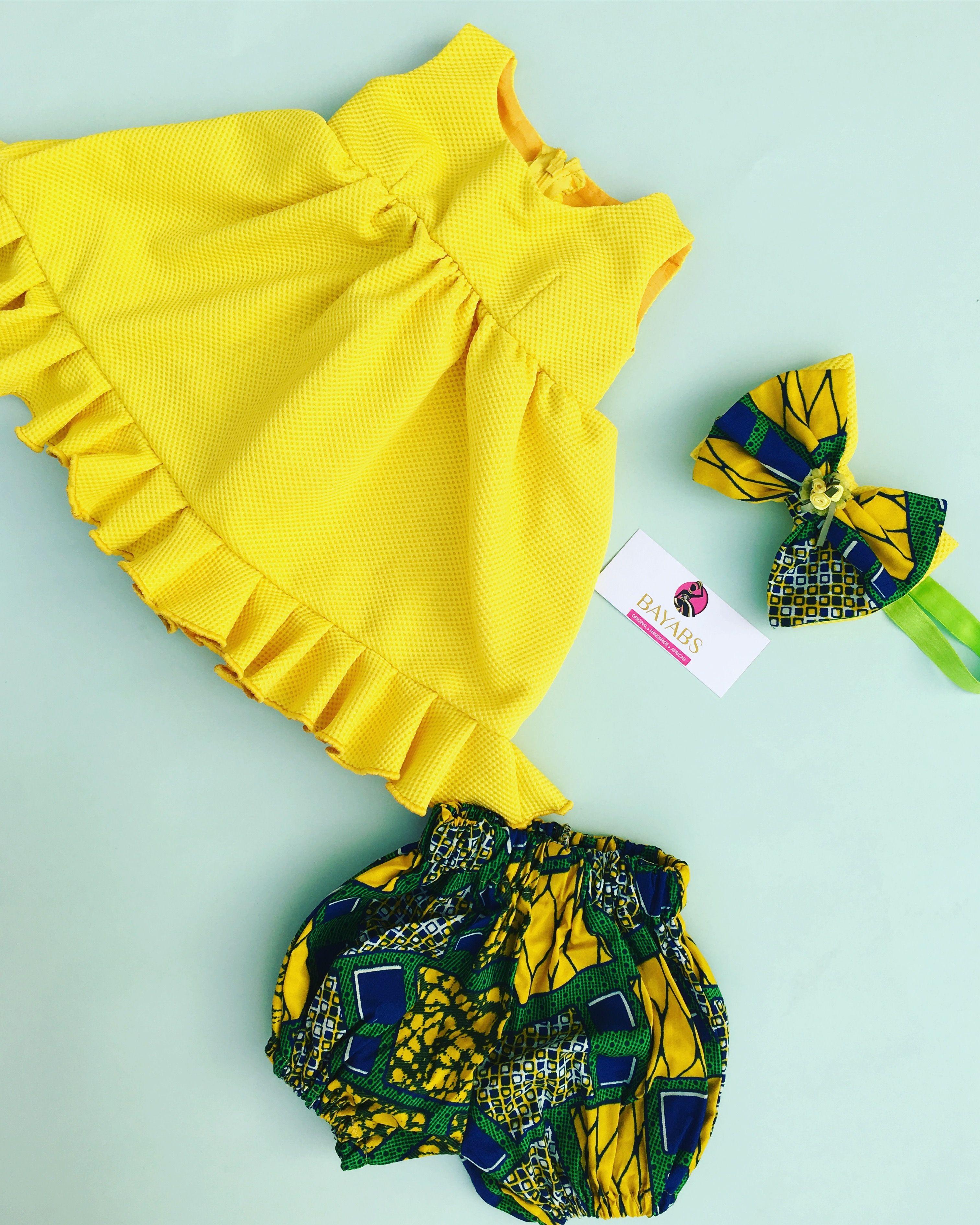 4a603ccbcbeb3 Ankara baby wear. African print baby wear. Ankara girls wear. Ankara dress. African  print girls wear. African print dress.