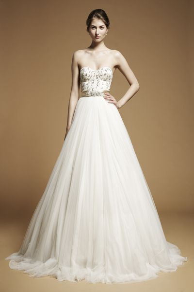 love fitted bodices and soft full skirts