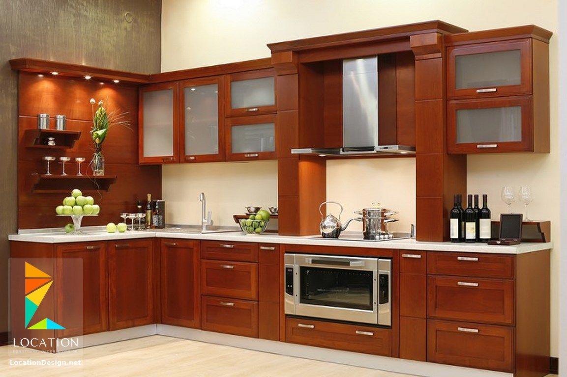 مطابخ خشب صغيرة 2018 2019 لوكشين ديزين نت Kitchen Cabinet Design Photos Aluminum Kitchen Cabinets Kitchen Furniture Design