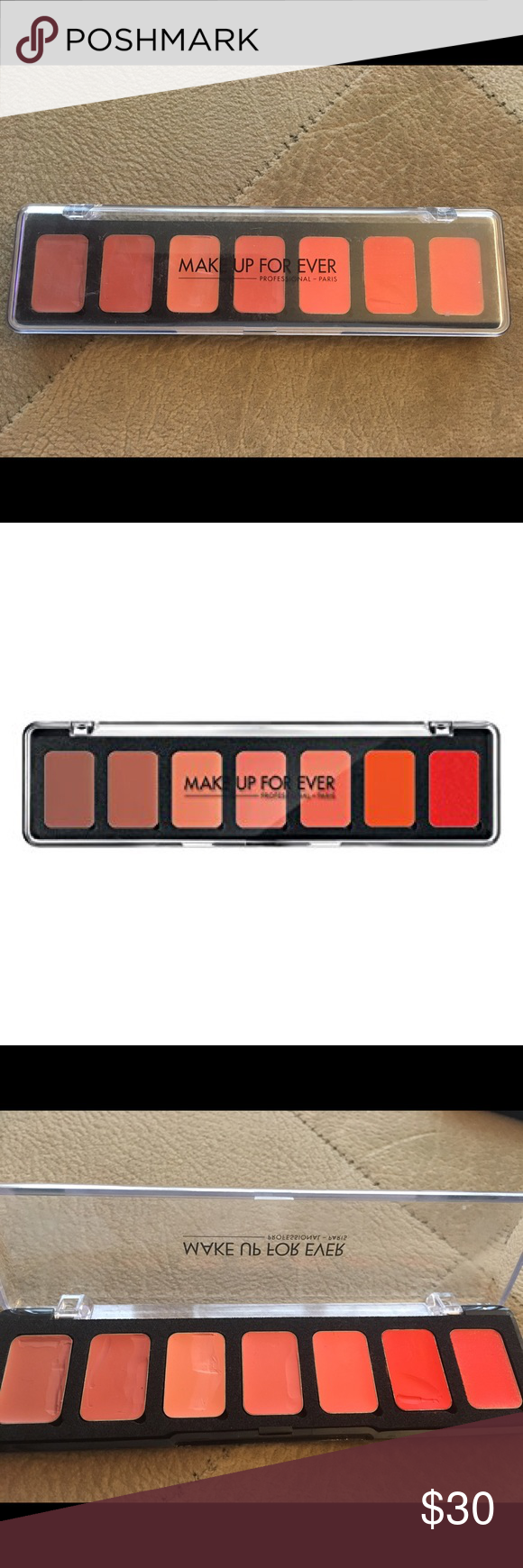 Make Up For Ever Artist Rouge 7 Lip Palette Make Up For Ever Artist Rouge 7