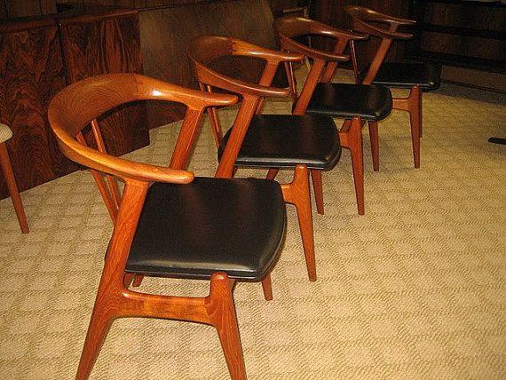 Danish Scandinavian Teak Dining chair by Torbjorn by DanishGarage, $675.00