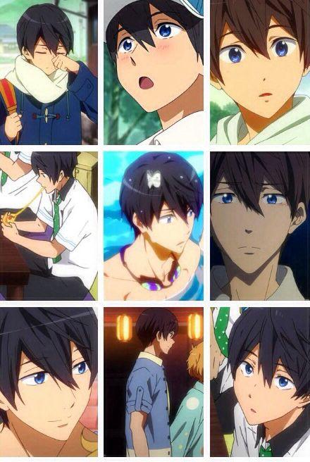 Anime Manga Free Iwatobi Swim Club Character Haru Ka The Many