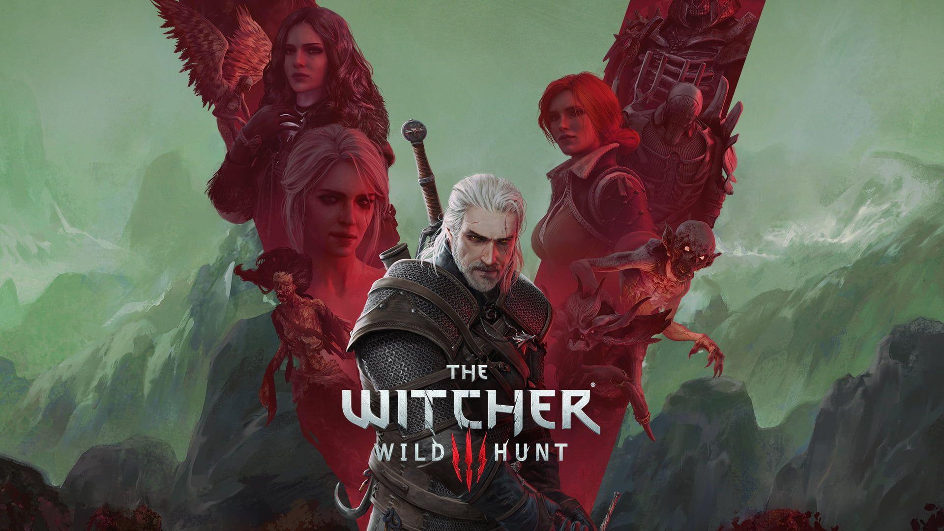 The Witcher The Witcher 3 Wild Hunt Geralt Of Rivia Cirilla Fiona Elen Riannon Ciri Triss Merigold Yennef In 2020 The Witcher The Witcher Wild Hunt The Witcher Books