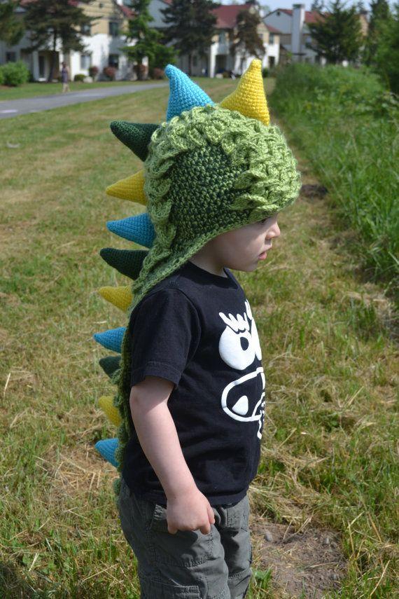 12 month 3t size Dinosaur/ Dragon crochet by KyliesCrochet4ACause ...