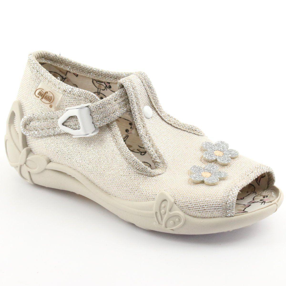 Kapcie Dzieciece Dla Dzieci Befado Szare Befado Obuwie Dzieciece 213p110 Shoes Sneakers Fashion