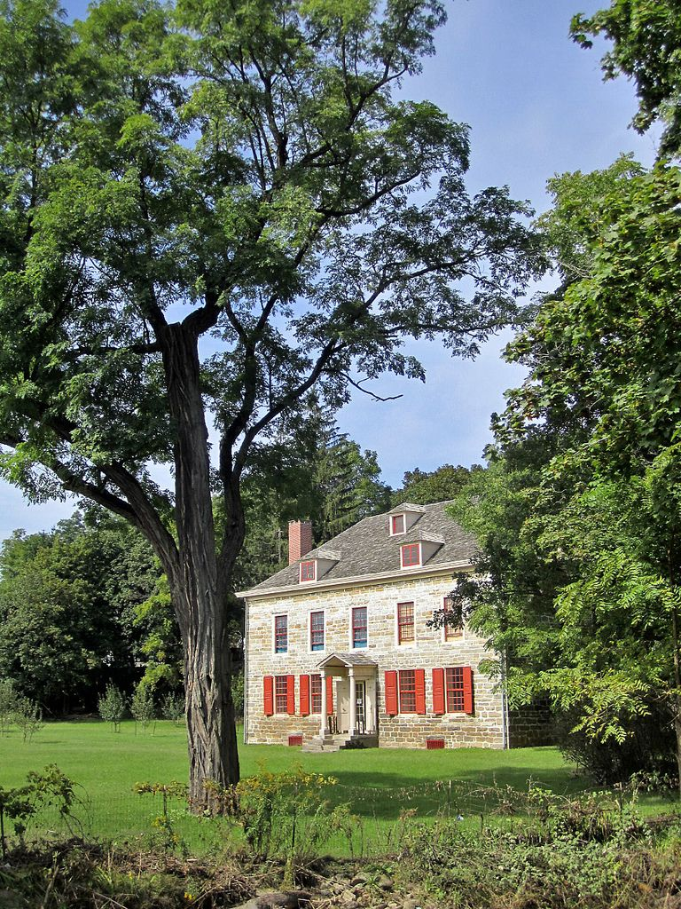 Old Fort Johnson Mansion In Fort Johnson New York With Images