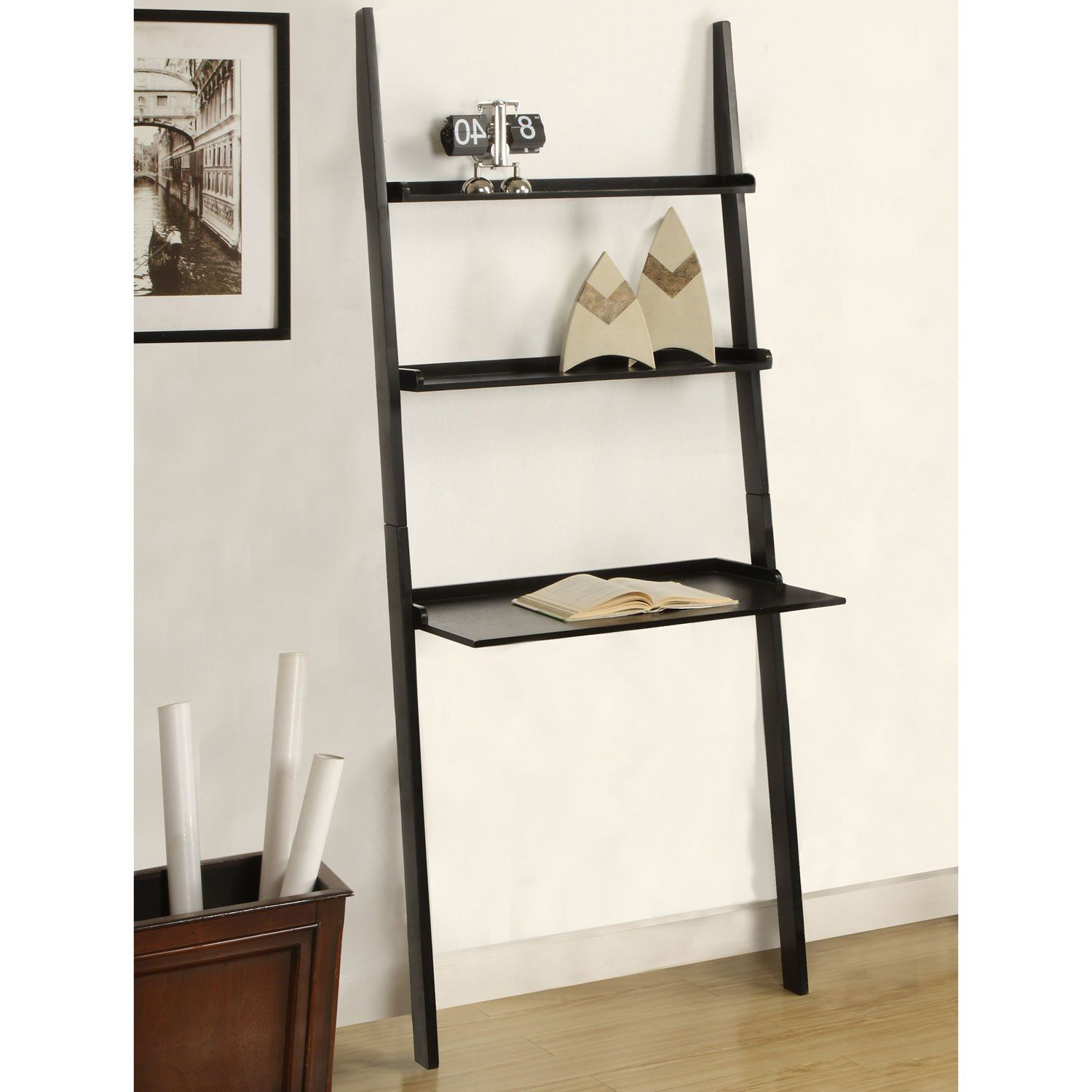 Leaning Shelf Desk Ikea Easy Craft Ideas