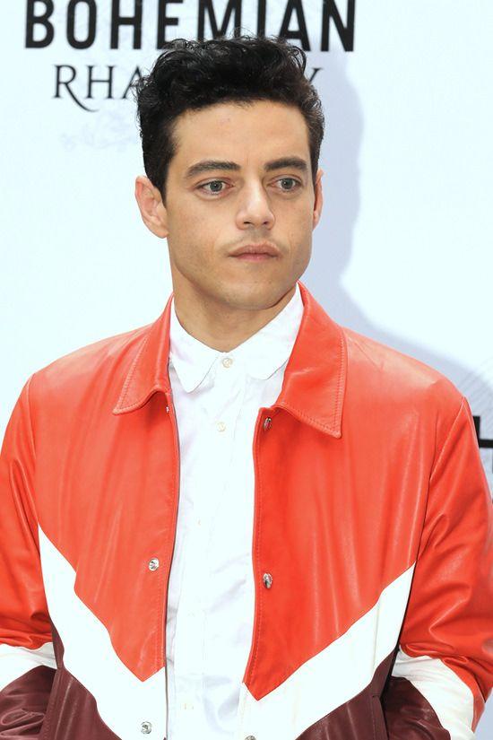 "Rami Malek is Sigh-Worthy in Valentino at the ""Bohemia Rhapsody"" Rome Photocall | Tom + Lorenzo"