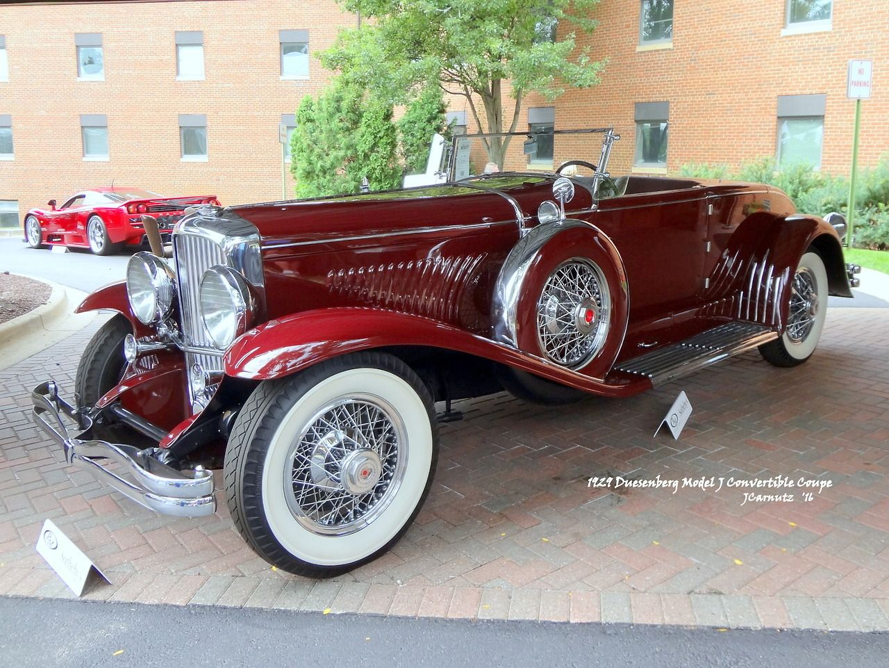 1929 Duesenberg Model J Convertible Coupe The 2016 RM