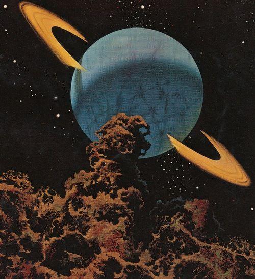 pulp Science Fiction 1970S | illustration # space # space art # science-fiction