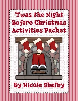 photo about Twas the Night Before Christmas Printable Book identified as Twas the Night time Ahead of Xmas Looking at Video game Packet
