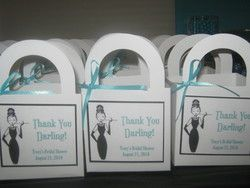 breakfast at tiffany's bridal shower favors - Google Search