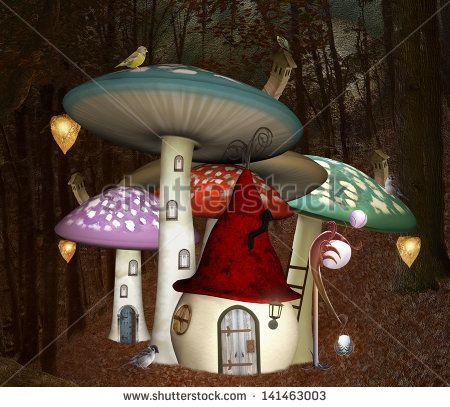 Fairy House Arkivfotografier og billeder | Shutterstock