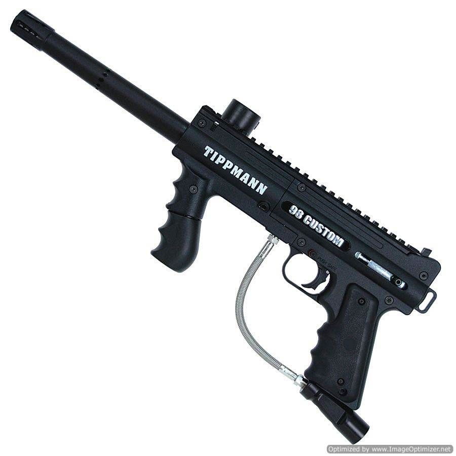 I have a few of these Tippmann 98 Custom paintball markers. You can run them over with a truck and they still work.