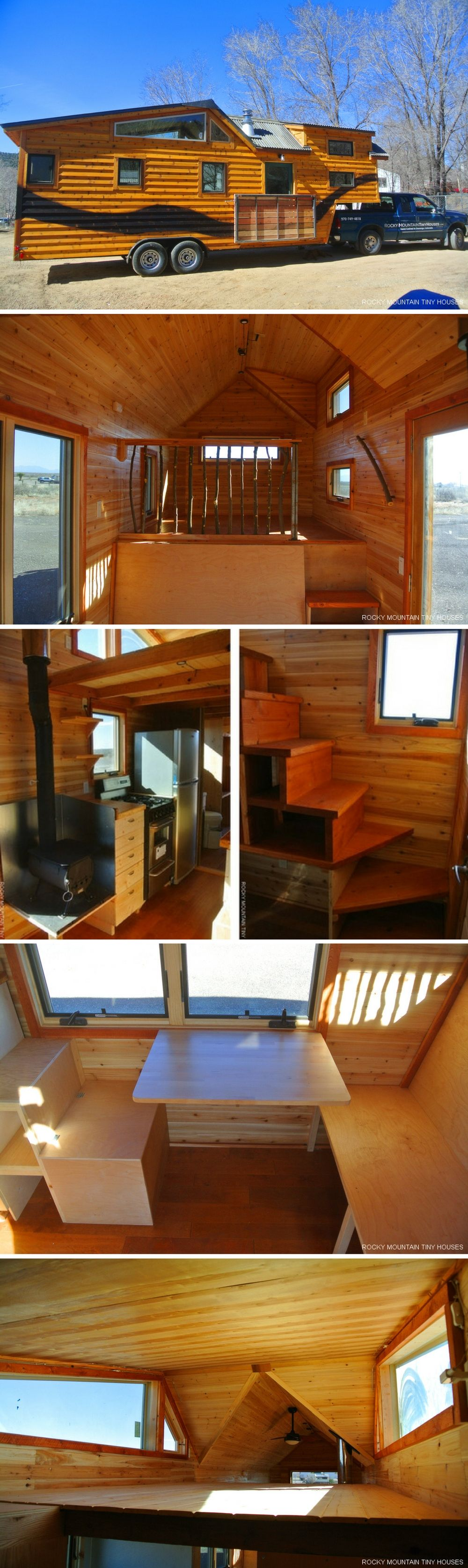 the river runs through it tiny house cabin style tiny homes minihaus haus pl ne kleines. Black Bedroom Furniture Sets. Home Design Ideas