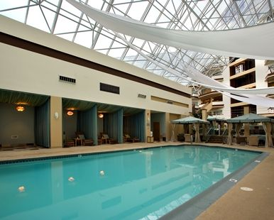Hilton Boston Woburn Hotel Machusetts Indoor Pool