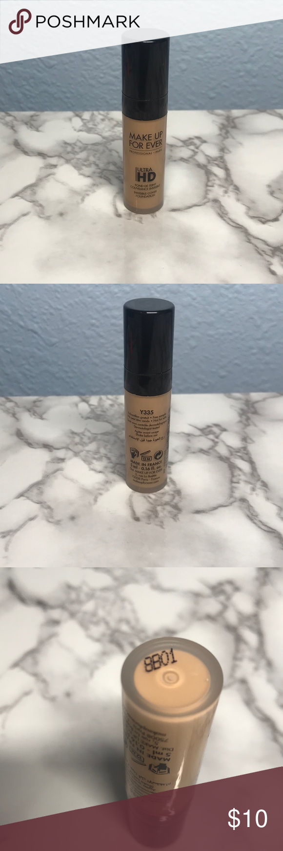 Makeup Forever Ultra HD Invisible Cover Foundation NWT