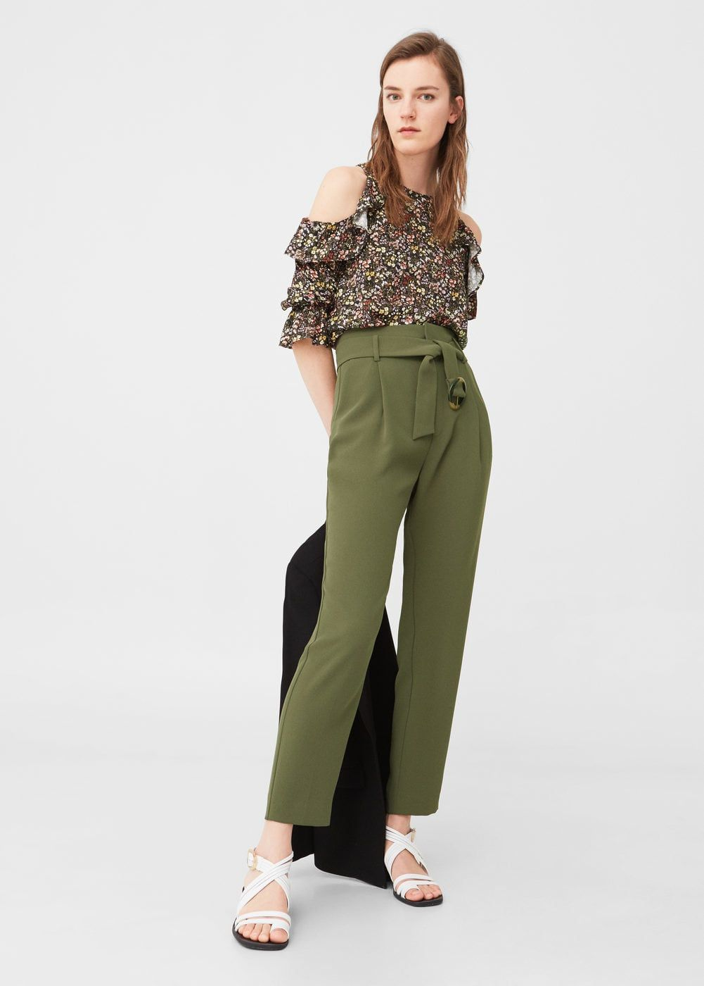 1c2cc0d17b538 Pantalon pour Femme | MANGO Luxembourg | Jeans) Pantalons ) Shorts ...